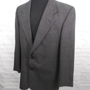 YSL Men's 2 Button Wool Blazer Sport Coat 46R